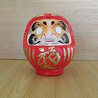 Daruma Doll made at Takasaki, Japan: No 1 size