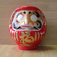 Daruma made at Takasaki, Japan: No 2.5 size